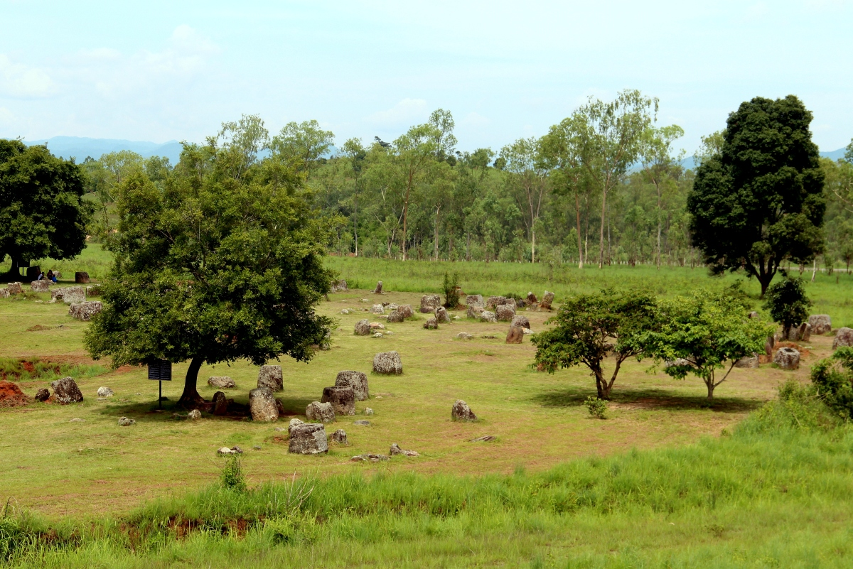 Riding around the enigmatic Plain of Jars