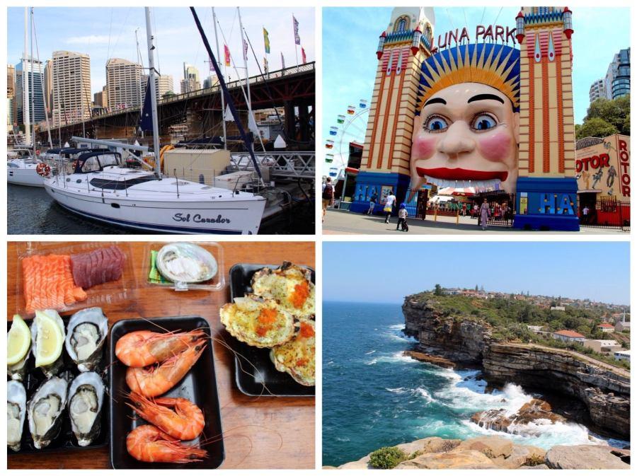 Sydney collage