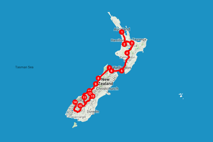 Destination Guide New Zealand Bona Travels